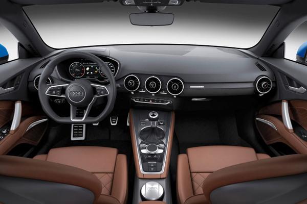 Audi, Audi convertibles, Blue 2016 Audi TT, German Cars