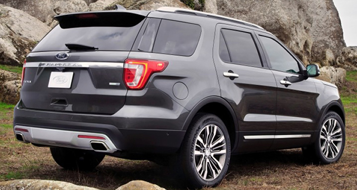 2016 Ford Explorer, Ford, SUV, American Cars, Family Cars, Family SUVs, 3 Row Vehicles