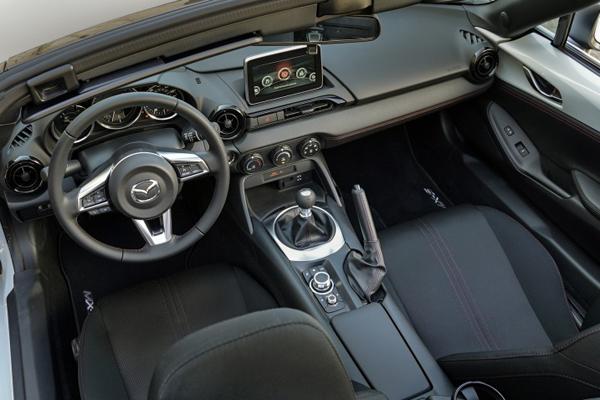 Mazda, Mazda convertibles, White 2016 Mazda MX-5 Maita, Japanese Cars, 2016 New York Auto Show, 2016 World Car, 2016 World Car Design of the Year