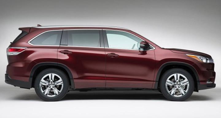 2016 Toyota Highlander, Toyota, SUV, Japanese Cars