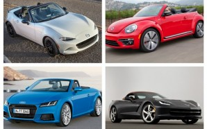 10 Best Convertibles For 2016