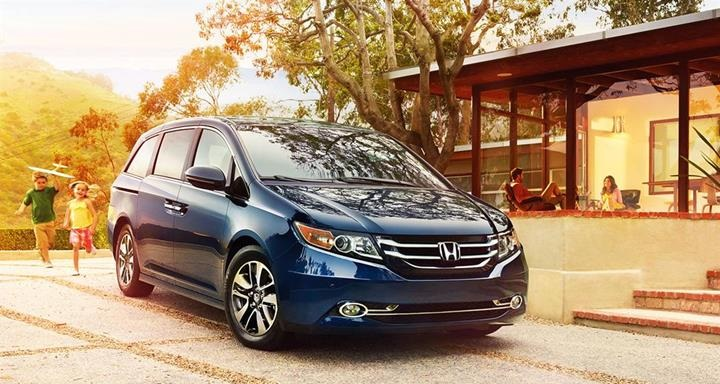 Source: Honda.com, 2016 Honda Odyssey, 2016 Minivans, 2016 Station Wagons,Japanese Cars