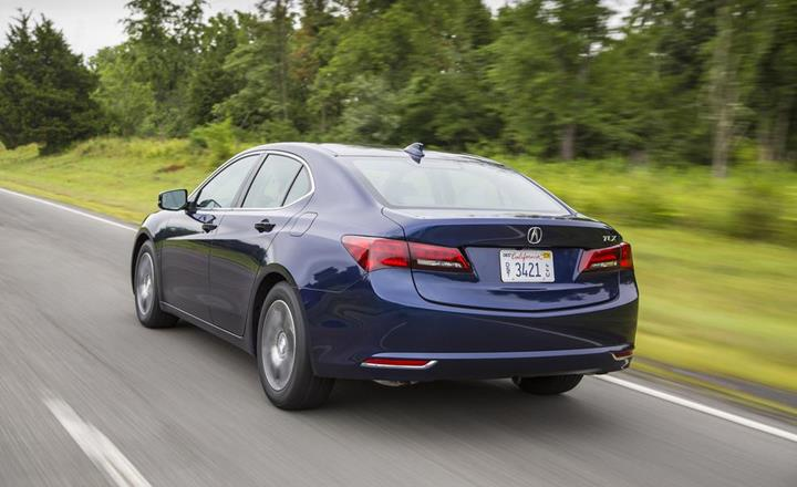 Featured Image: Caranddriver.com, 2016 Acura TLX, American Cars