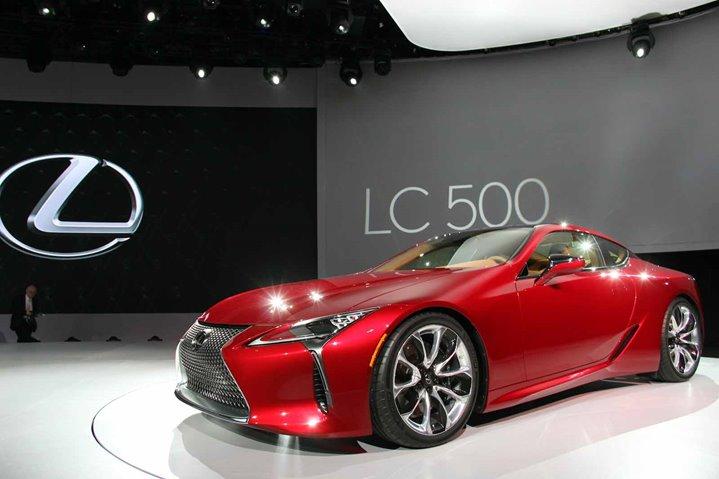 2018 Lexus LC500, Lexus, North American International Auto Show, Auto Shows, Car News
