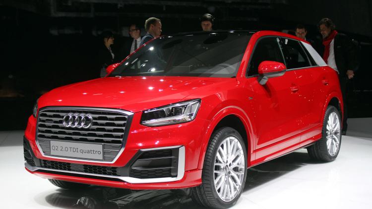 2017 Audi Q2, Audi, German Cars, SUV, Crossover, Geneva Motor Show, European Car Shows, Luxury SUVs