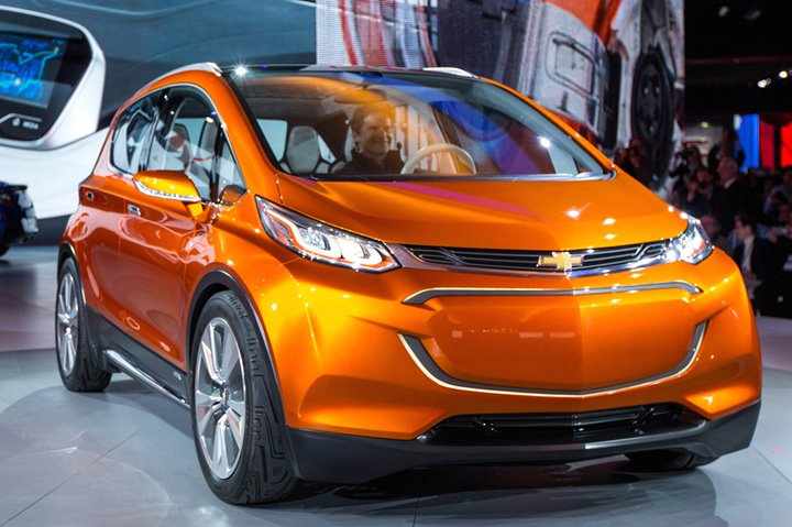 Chevrolet Bolt EV, 2017 Chevrolet Bolt EV, Chevvy, American Cars, North American International Auto Show, 2016 Auto Shows