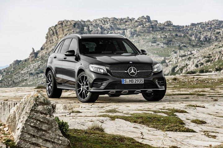 Mercedes-AMG-GLC-43-3, Mercedes Benz, German Car, 2016 New York Auto Show, Car Shows, American Car Shows