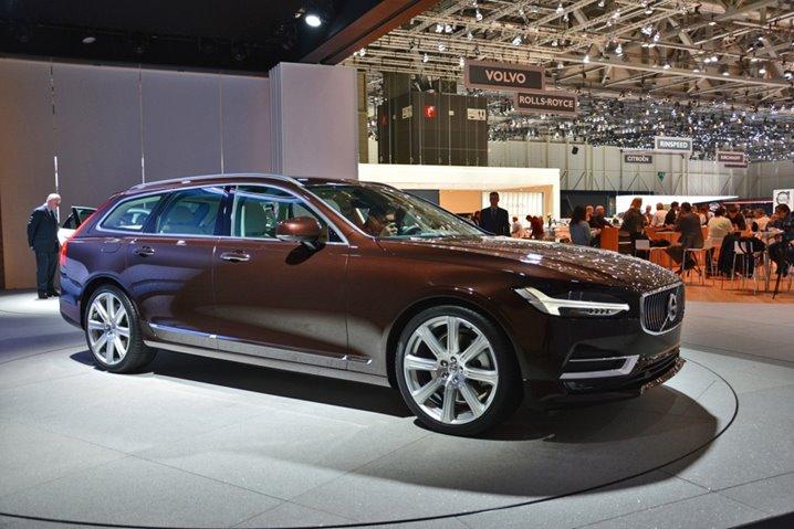 2017 Volvo V90, Station Wagons, Volvo, Swedish Cars, 2017 Car Models, 2016 Geneva Car Show, European Car Shows