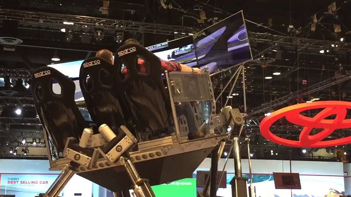 Ford GT Simulator, 2016 Chicago Auto Show, Ford, American Cars, Virtual Race Track
