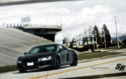 Audi R8 Phantom Black Panther