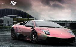 Dusky Pink Lamborghini Murcielago LP670-4 SV