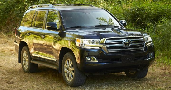 2017 Toyota Land Cruiser, Toyota Land Cruiser, Toyota, 2017 SUVs, 2017 Toyota Models, SUV, 3-Row Vehicle